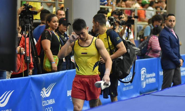 Jossimar se retiró de la final individual masculino