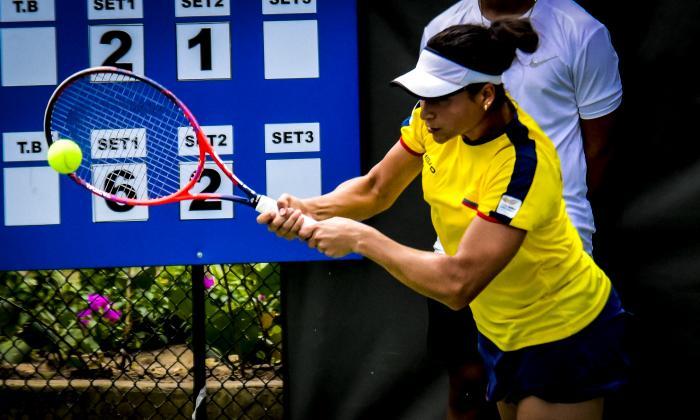 Mafe Herazo dio el punto de la clasificación a Colombia.