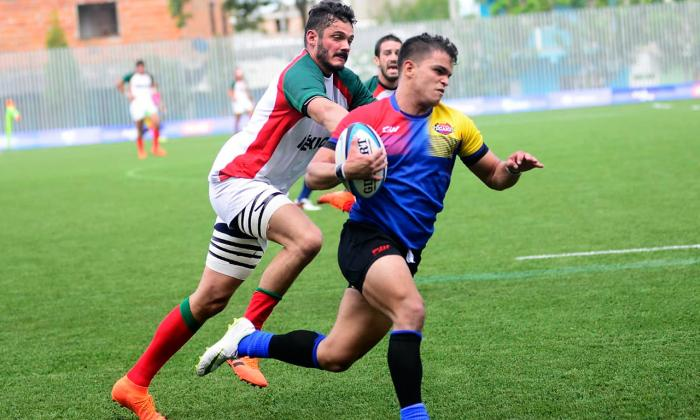 Colombia debuta con pie derecho en rugby de los Barranquilla 2018