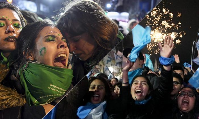 Las dos caras de la moneda en Argentina tras decisión del Senado de hundir legalización del aborto