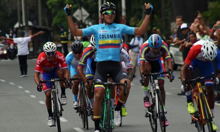Nelson Soto, pedalista barranquillero.