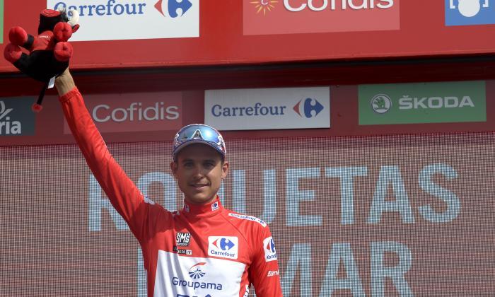 Rudy Molard pasa a liderar la Vuelta a España, Nairo Quintana es noveno