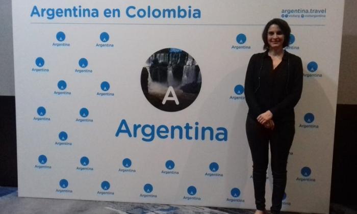 Actividad promocional realizada en Colombia.