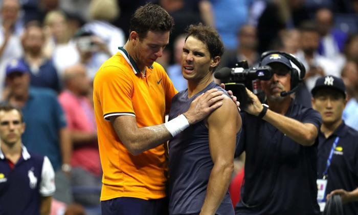 Del Potro jugará la final del US Open tras abandono por lesión de Nadal