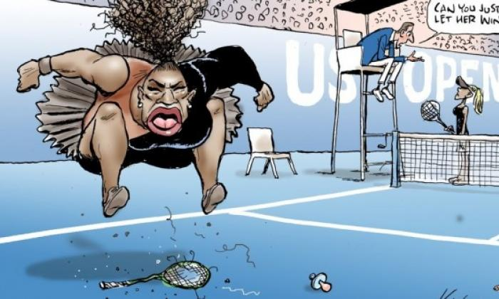 Polémica caricatura de Serena vuelve a ser publicada