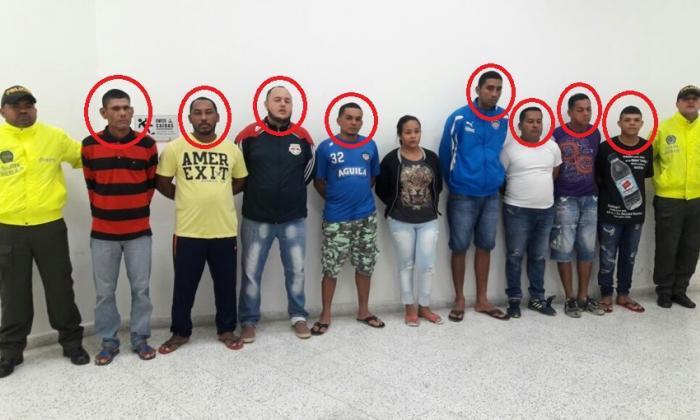 Otorgan libertad a otros tres de 'Los 40 Negritos'