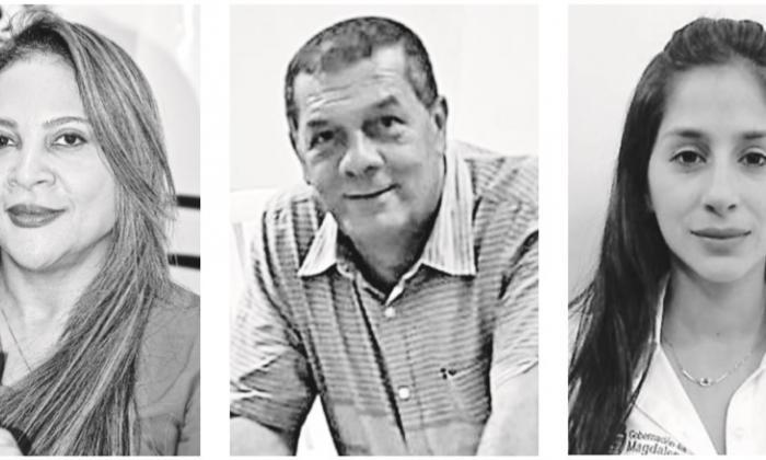 Noralit Barliza Freyle, Eduardo Noguera D. y Kathleen Villalba Ruiz.