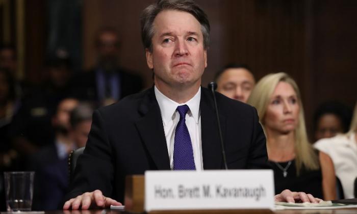 Brett Kavanaugh, candidato del presidente Trump a la Corte Suprema de EEUU. en la audiencia de este viernes en el Senado.