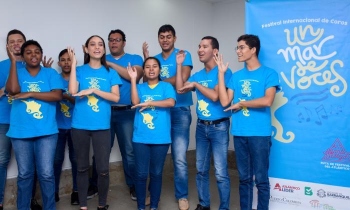 El coro de Puerto Colombia será el anfitrión de este encuentro que reúne agrupaciones internacionales.