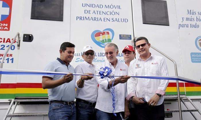 Gobernación entrega Unidad Móvil al Hospital de Malambo