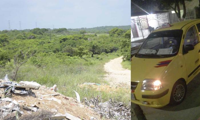 Amarran a taxista y le roban su carro en Los Almendros
