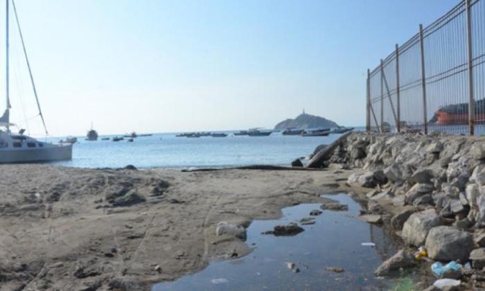 Acción popular para descontaminar y recuperar bahía de Santa Marta