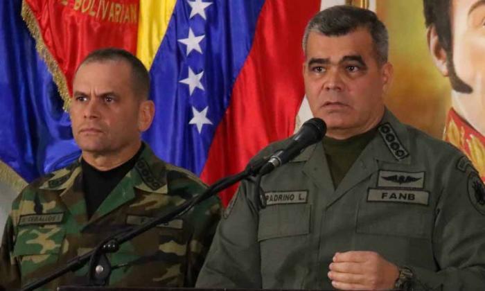 Vladimir Padrino López, mindefensa de Venezuela.