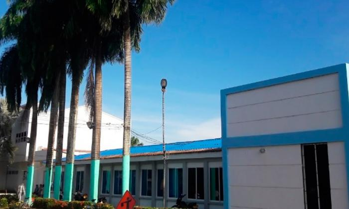 Fachada del hospital del municipio de Valencia.