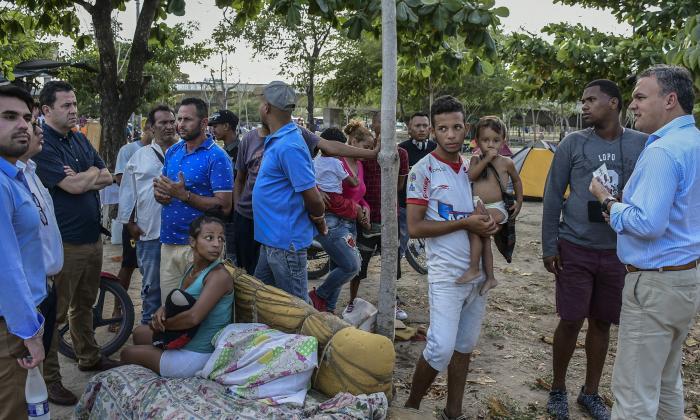 Cancillería anuncia hogar de paso para inmigrantes