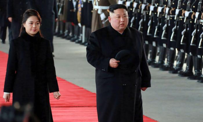 El líder norcoreano Kim Jong Un, de visita en China