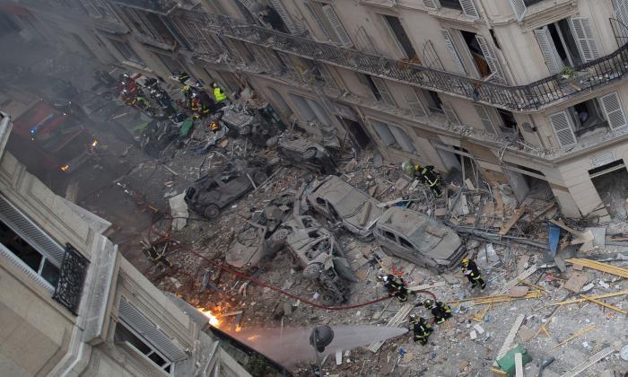 Sube a cuatro el número de muertos en explosión por fuga de gas en París