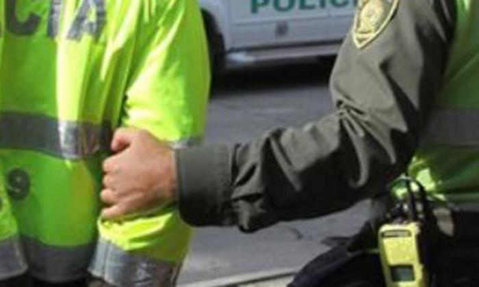 Capturan a patrullero de la Policía por transportar 25 kilogramos de marihuana