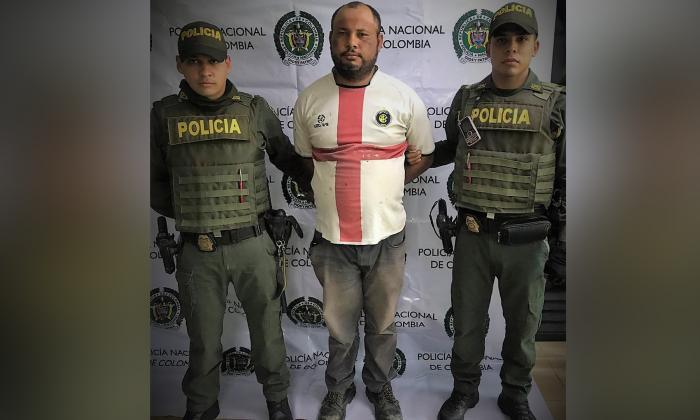 Robinson Arturo Solano Palomino, señalado de agredir a su hijo de cinco año.