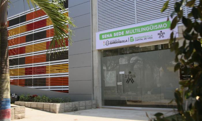 Fachada de la nueva sede ubicada en San José.