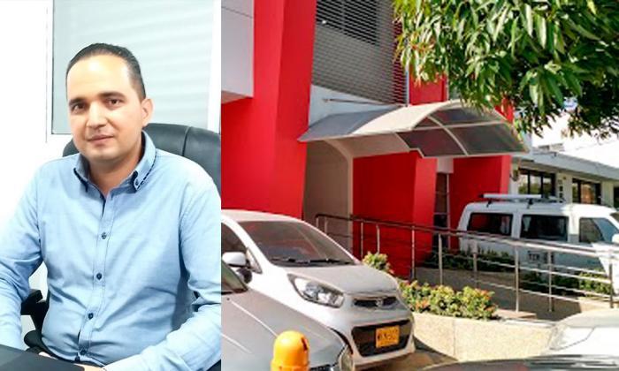 Óscar Acevedo, jefe jurídico del Centro Médico.