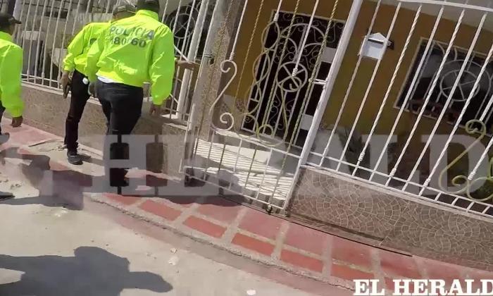 "En video | ""Frío e inexpresivo"", así estuvo Maldonado cuando fue capturado"