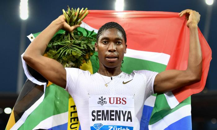 La polémica atleta sudafricana Caster Semenya.