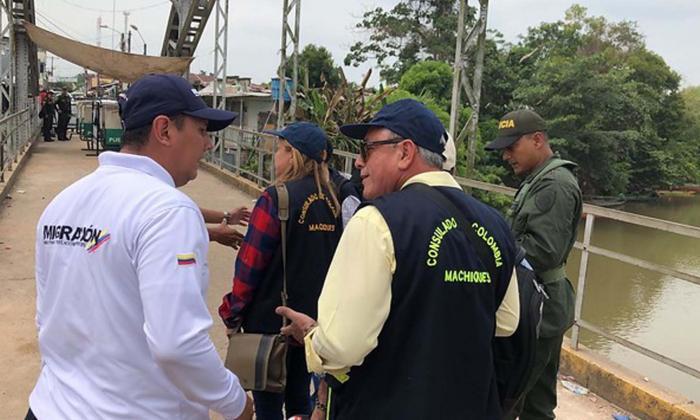 Cuatro cónsules colombianos en Venezuela regresaron ya al país