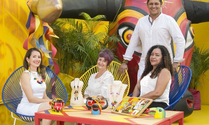 El arte es el rostro de la economía naranja del Carnaval