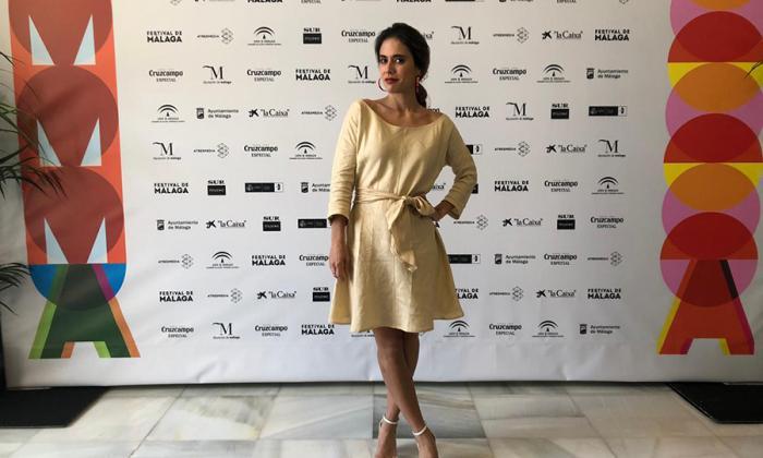 Carolina Ramírez, galardonada en Málaga