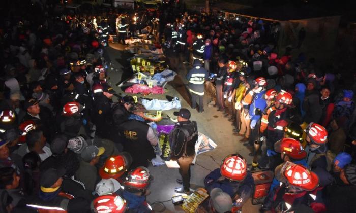 Al menos 18 muertos tras ser arrollados por trailer en Guatemala