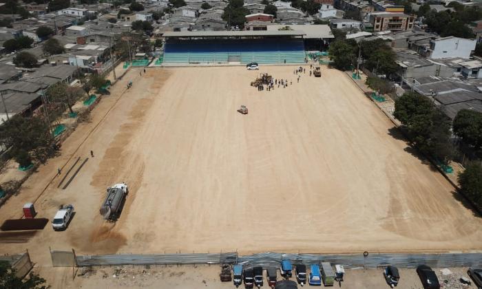 Nuevo estadio de fútbol de Soledad estará listo en seis meses: alcalde