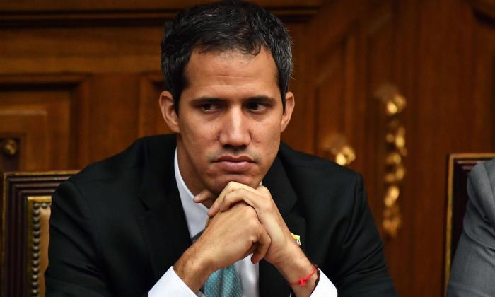Juan Guaidó, en el marco de la reunión 'Jóvenes Líderes por Venezuela'.