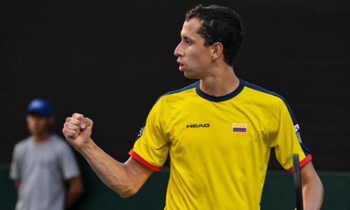 Daniel Galán clasificó a los octavos de final del ATP de Houston