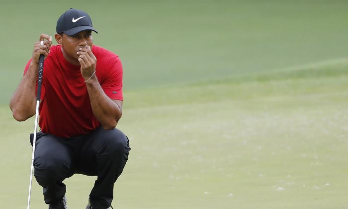 Tiger Woods durante el Masters de Augusta.