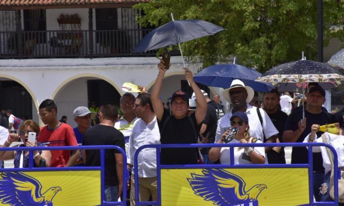 En video | Duras críticas de los festivaleros a la nueva plaza Alfonso López