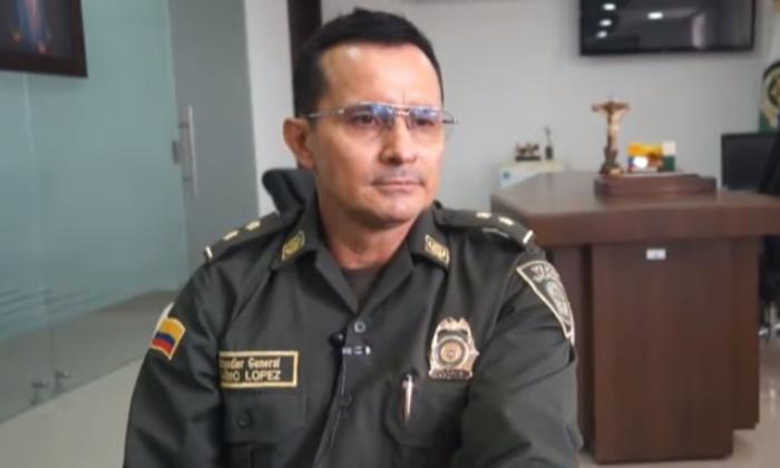 Brigadier general Fabio Hernán López Cruz.