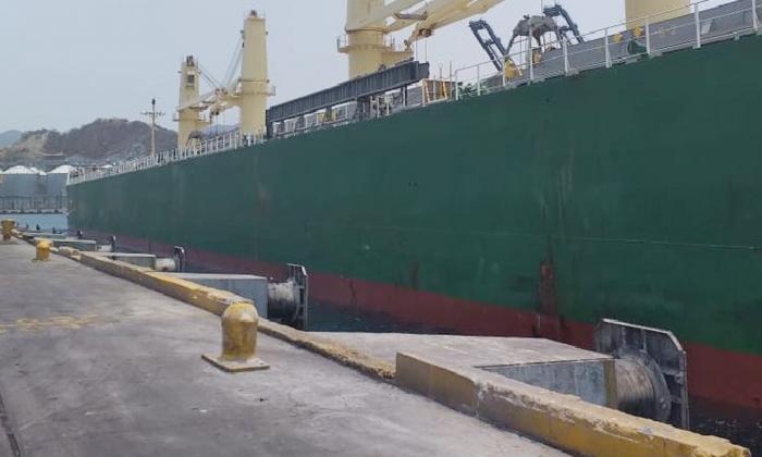 Muelle 7 del terminal marítimo de Santa Marta.