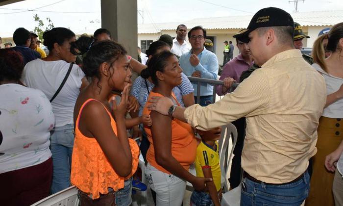 Minvivienda entrega 160 casas en Ponedera