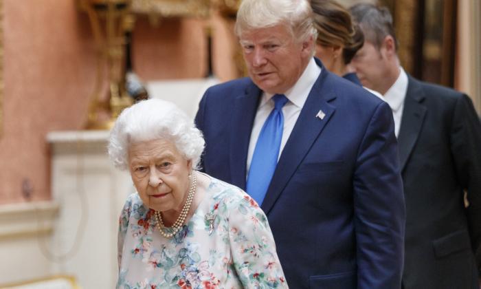 Donald Trump critica a alcalde de Londres en su visita al Reino Unido