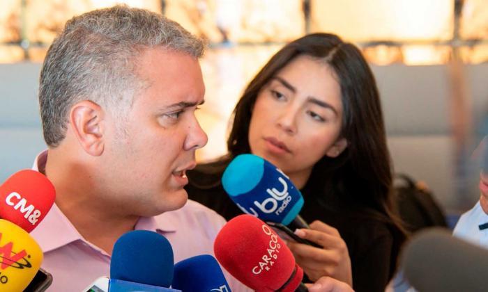 Duque monitoreará la situación de la vía al Llano durante su gira por Europa