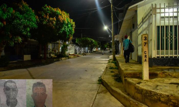 Dos presuntos delincuentes heridos en intento de atraco en Lucero