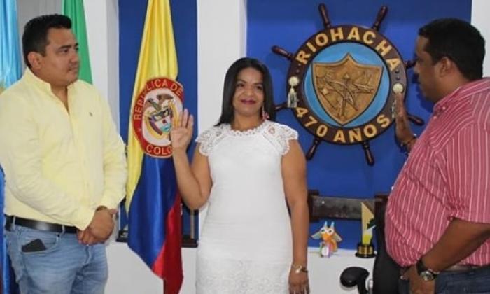 Asumió directora de Asuntos Comunitarios y de Casa de Justicia de Riohacha