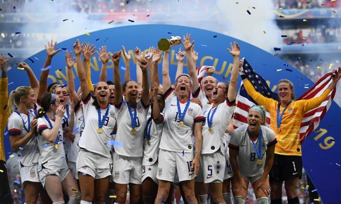 Estados Unidos, campeón mundial femenino