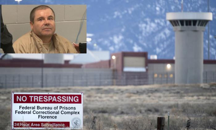 El Chapo Guzmán llegó a la prisión de máxima seguridad ADX en Colorado