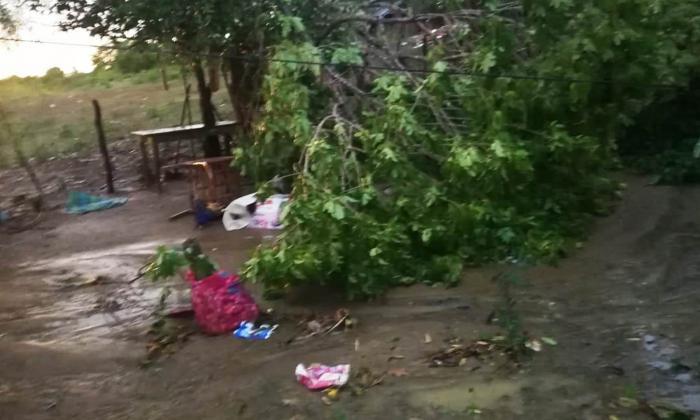 Vendaval azotó el área rural de Ariguaní, Magdalena