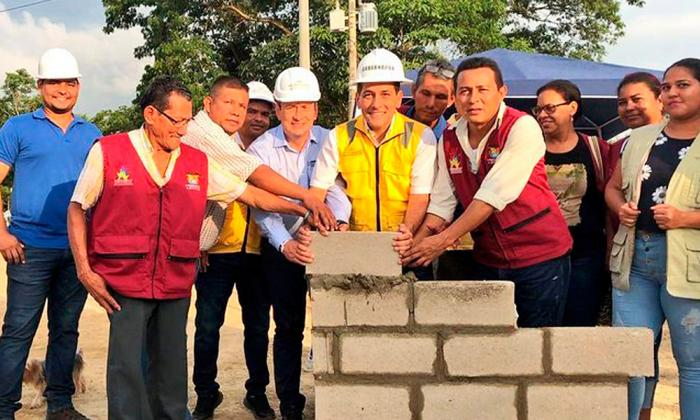 Arrancan obras de Centro de Atención a Víctimas en Cartagena