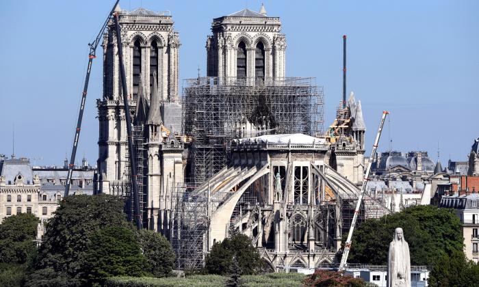 Obras de Notre Dame se reanudarán el 19 de agosto