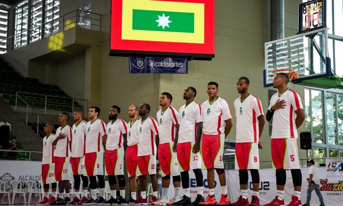Titanes, el equipo profesional de baloncesto de Barranquilla, en su primer año terminó como campeón.