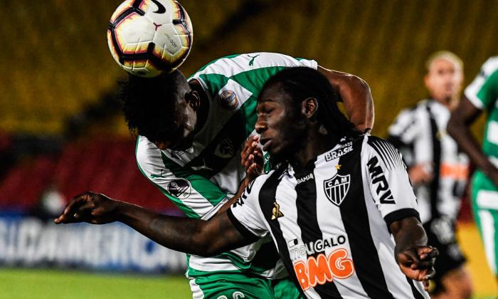 Chará marcó en la victoria de Mineiro y dejó a Equidad fuera de la Sudamericana